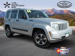 2008 jeep liberty warning lights used 2008 jeep liberty for sale colorado springs co