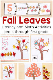 fall printable activities for pre k and kindergarten