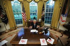 Inside The Oval Office Donald Trump Really Wants You To Know He Won The Presidential Election