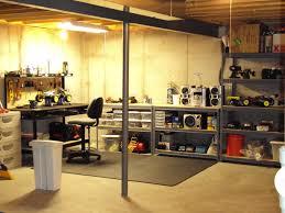 stunning unfinished basement storage ideas roll bar viking color