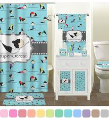 yoga poses shower curtain personalized potty training concepts
