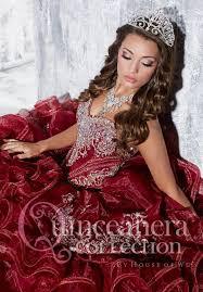 maroon quinceanera dresses beaded quince dress 26769