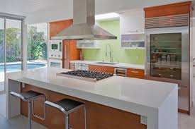 Distance Between Island And Cabinets How High Do You Hang A Range Hood