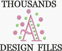 machine embroidery designs free font formats cd pes hus