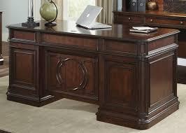 Executive Office Desk Cherry Brayton Manor Junior Executive Desk By Liberty Home Gallery Stores