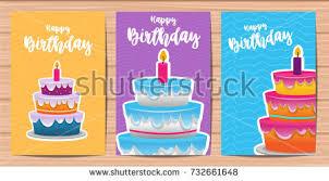 festive birthday design cake stock vector 650063707 shutterstock