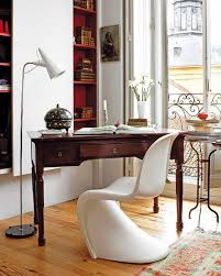 Modern Vintage Interior Design 30 Home Office Interior Décor Ideas Antique Desk Desks And Modern