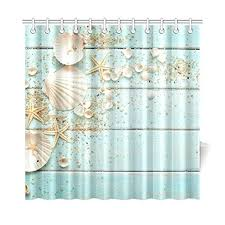 Themed Fabric Shower Curtains Nautical And Themed Shower Curtains Beachfront Decor
