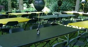 picnic table cover set disposable plastic tablecloth cover party tent rental fitted picnic
