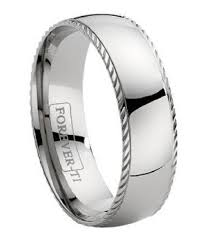 titanium mens rings titanium wedding band with a decorative ridge just men s rings