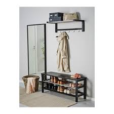 tjusig bench with shoe storage black ikea u2022 dream home