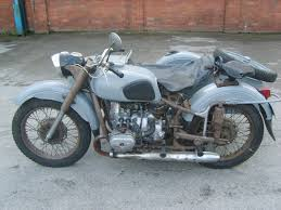 ural 650 cc soviet motorcycle and sidecar not chinese copy