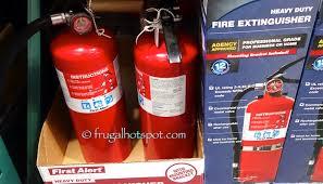 First Alert Kitchen Fire Extinguisher by Costco Sale First Alert Heavy Duty Fire Extinguisher 26 99