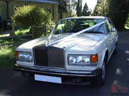 chrysler rolls royce rolls royce silver spur lwb leather nav cream wedding car for sale