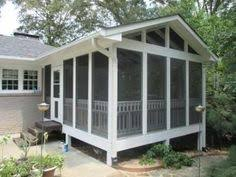 charlotte elevated porch with eze breeze windows for the home