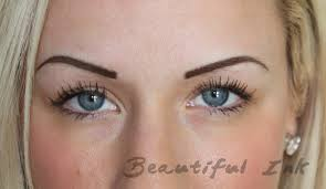 tattooed eyebrows beautiful ink brighton u2013 permanent makeup top