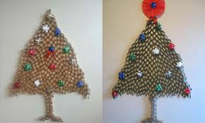 diy rolled paper christmas tree ne wall