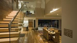Small Space Stairs - living room floating stairs wonderful open plan living space