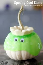 white pumpkin halloween slime science for goblins and ghouls