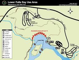 Michigan Dnr Lake Maps by Dnr Closes Tahquamenon Falls Boardwalk For A Month Mlive Com
