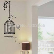 Birdcage Home Decor Popular Black Bird Wall Decals Buy Cheap Black Bird Wall Decals