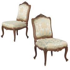 rococo revival chairs 7 for sale at 1stdibs 19th century pair of carved walnut rococo revival side chairs in louis xv taste