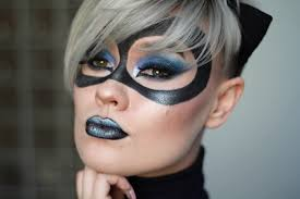 catwoman inspired makeup tutorial dc comics youtube