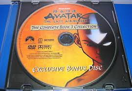 avatar airbender book 3 fire bonus disc replacement