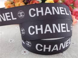 designer ribbon 2013 new arrival 7 8 22mm logo printed grosgrain ribbon brand