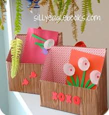 Valentine Shoe Box Decorating Ideas Valentine Box Made From A Recycled Cereal Box Was Thinking Of