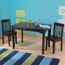 kidkraft avalon table and chair set white kidkraft avalon kids table w pull out drawer espresso sturdy