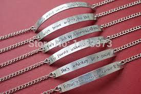 wedding bracelet gift images Silver chain bracelet bridesmaid bracelet customized handmade jpg