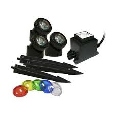 Submersible Pond Lights Light Kits Ponds U0026 Pond Accessories The Home Depot