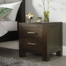 bedroom furniture sets gray maple nightstand bedside table lamp