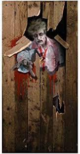 Zombie Apocalypse Halloween Decorations Amazon Com Amscan Zombie Apocalypse Halloween Trick Or Treat