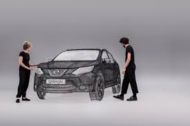 3doodler 3d printing pen 2 nissan drew a life sized suv using a 3doodler 3d pen techcrunch
