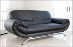 Nina Leather Sofa Cheap Faux Leather Sofa Foter