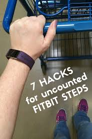 can you manually add steps to fitbit 7 hacks for uncounted fitbit steps when pushing a stroller cart