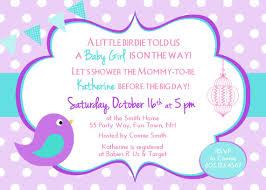 bird baby shower baby shower invitation girl bird baby shower invitations