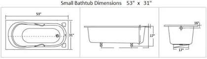 how to make do with small bathtub dimensions small bathtubs