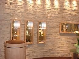 Beleuchtung Wohnzimmer Fernseher Moderne Steinwand Für Den Selbsteinbau Steine An Die Wand Kleben