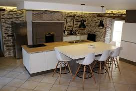 mod鑞e de cuisine am駻icaine charmant modèle de cuisine équipée avec cuisine amenagee moderne