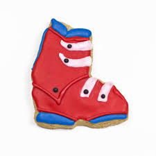 sports theme cookie cutters ski boots cookie cutter