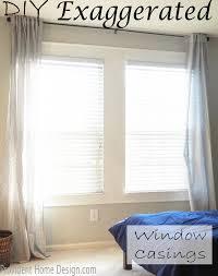 diy molding diy faux window casings