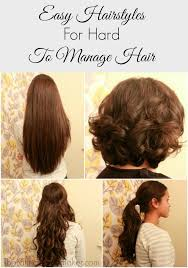 easy to manage hair cuts easy hair styles for hard to manage hair easy hair hair style