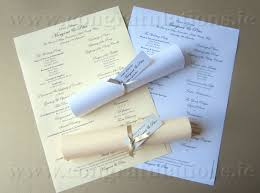 wedding booklet templates ceremony scrolls buy wedding ceremony scrolls in ireland from