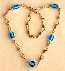 make beaded chain necklace images Wire wrapped chain necklace jpg