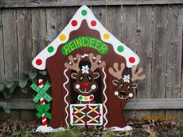 christmas lawn decorations popular items for yard on etsy crafting
