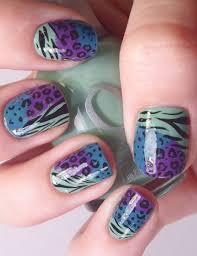 cheetah print nail design super cute cheetah nail designs you