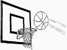 Basketball Hoop Coloring Page Basketball Coloring Pages Free Basketball Color Page